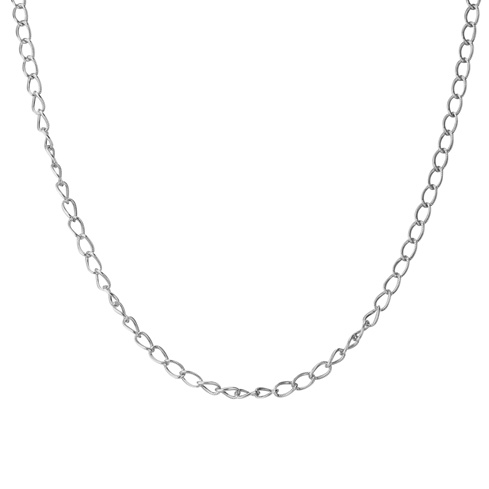 18 Rope Curb Chain Necklace