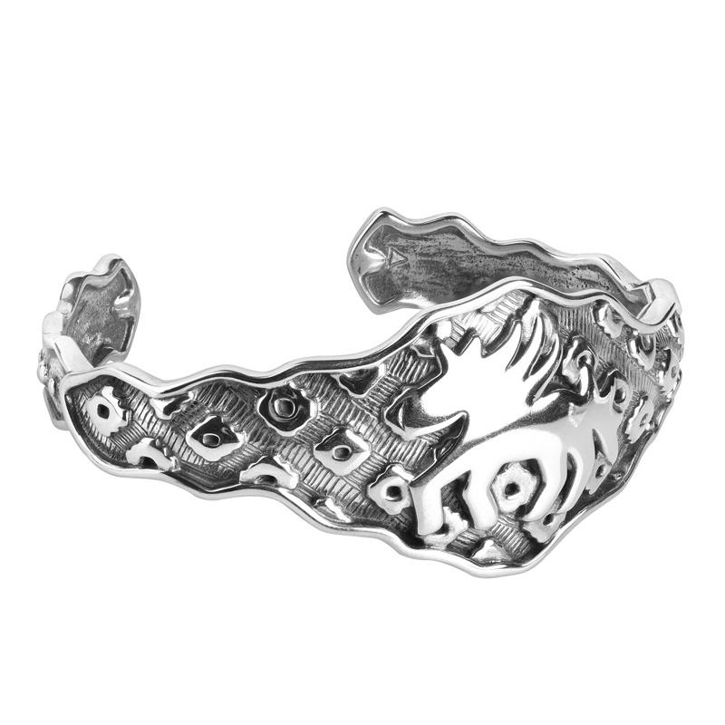 Sterling Silver Designed by Jody Naranjo Designed Horse Cuff Bracelet Size S, M or L