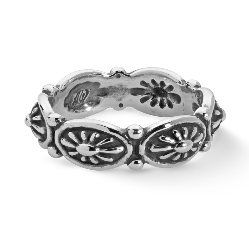 Sterling Silver Concha Ring Size 5 to 10