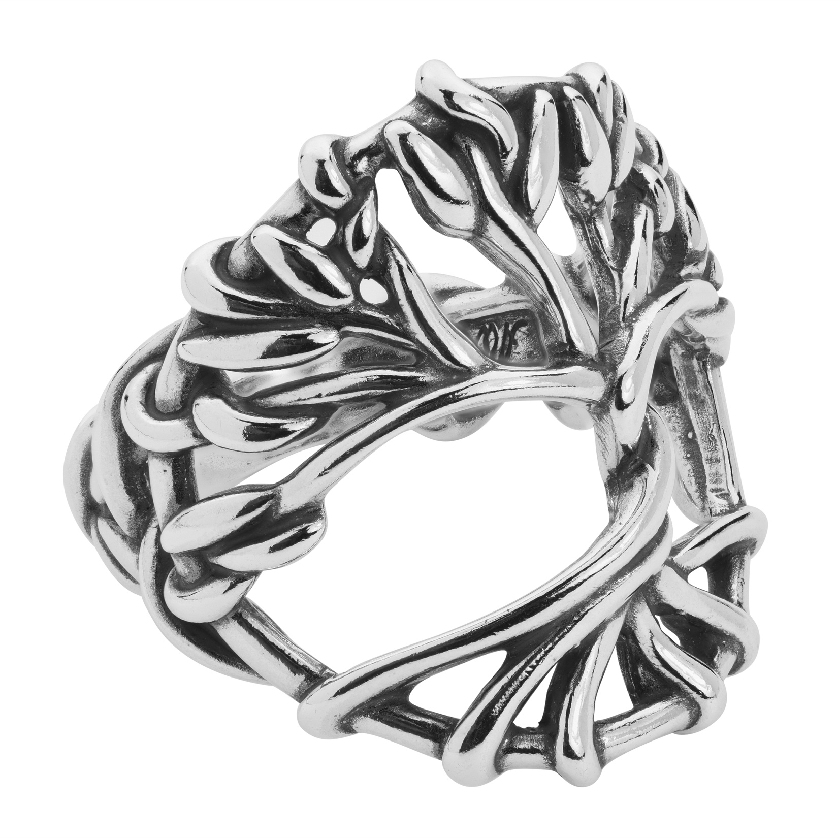 Sterling Silver Tree of Life Ring Size 5 to 10